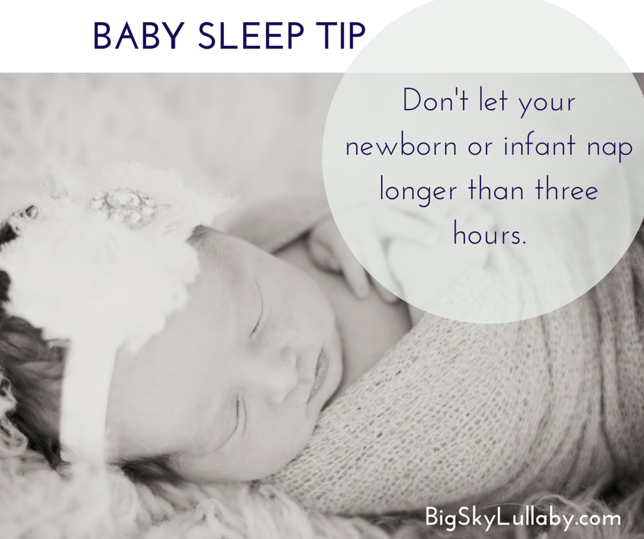 Infant nap tip